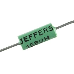 (Pkg 25) Airco/Jeffers 158uH Axial Inductor