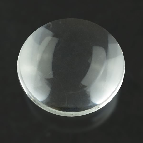 Small High Quality Convex Glass Lens