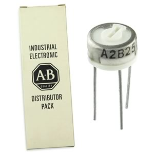 (Box of 10) A2B253 Allen Bradley 25K Trimmer Resistor