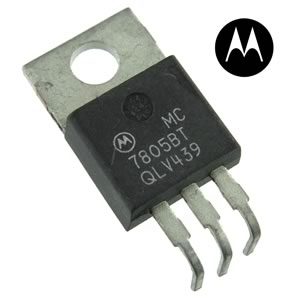 CLEARANCE! (Pkg 25) Motorola MC7805BT 5V 1Amp IC Voltage Regulator