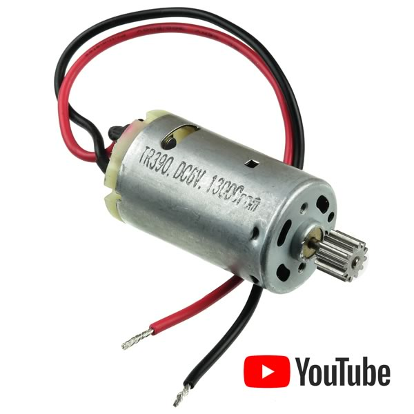 Powerful 13,000 RPM 6VDC Motor