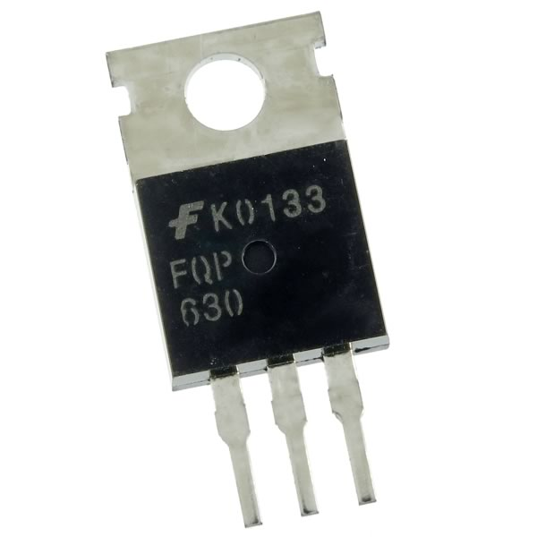 (Pkg 10) Fairchild FQP630 200V N-Channel Mosfet
