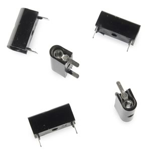 (Pkg 10) Black Test Jack Horizontal PC Universal