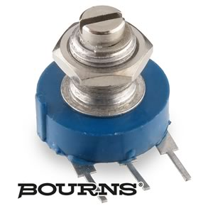 Bourns Panel Mount Linear Taper 300K Potentiometer