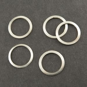 (Bag of 100) Aluminum Flat Washer for 3/8