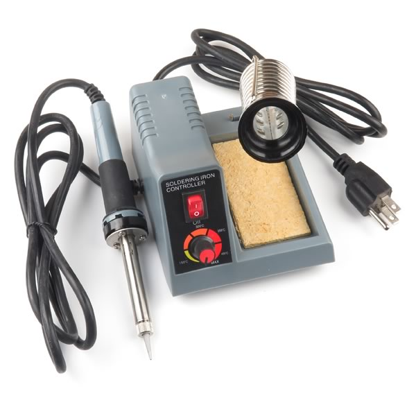 Variable Temperature Soldering Iron Station