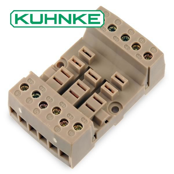 Kuhnke Z346 Relay Socket/Base
