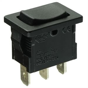CLEARANCE! (Pkg 3) SPDT Spring Return Momentary Rocker Switch