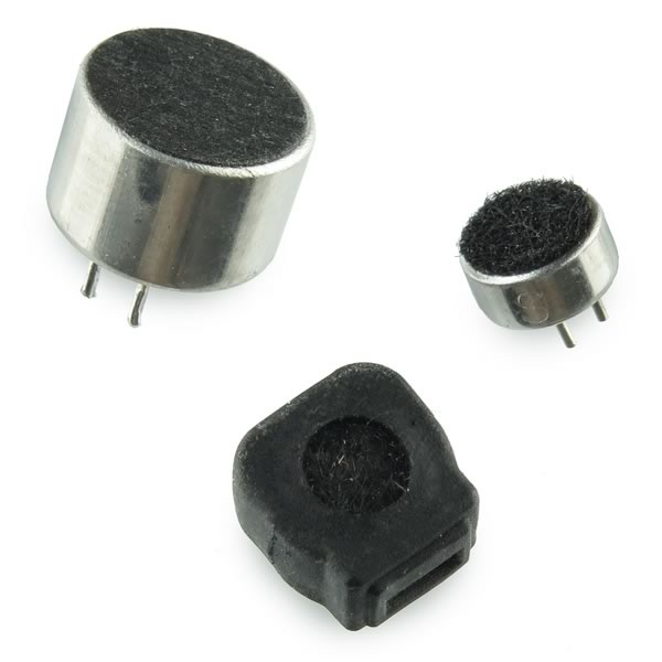 (Pkg 3) Mini Electret Microphone Assortment