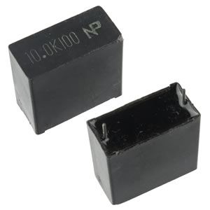 Compact 10uF 100V Film Capacitor