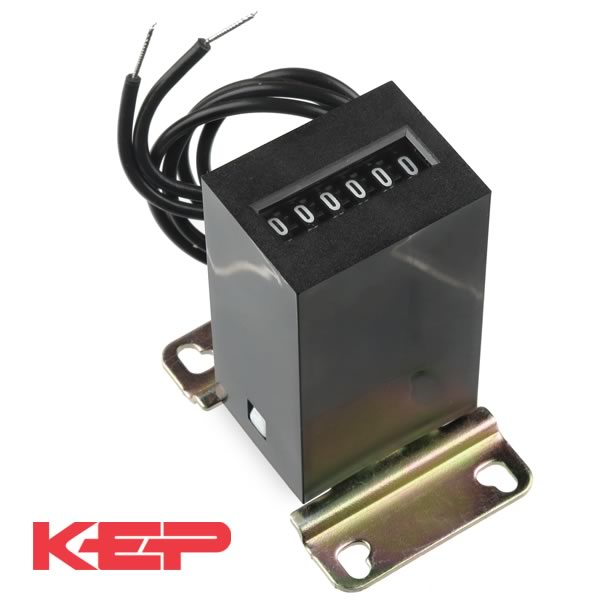 (Pkg 4) Kessler-Ellis 6 Digit 24VDC Impulse Counter KE610