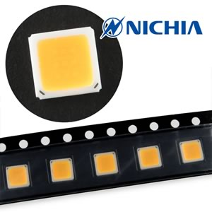 (Pkg 5) Nichia NS9L153MT-H3 Powerful Warm White SMD LED 85cd