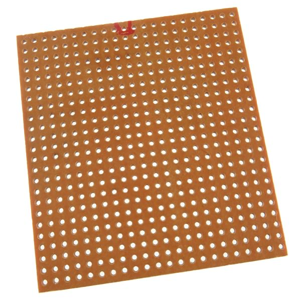 SALE - 2.22' x 2.46' Perfboard with Holes