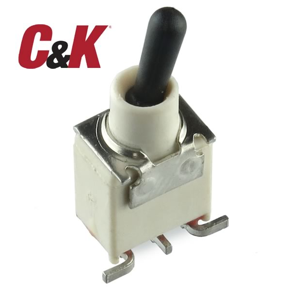 ET07 C&K On Off Momentary Subminiature Toggle Switch