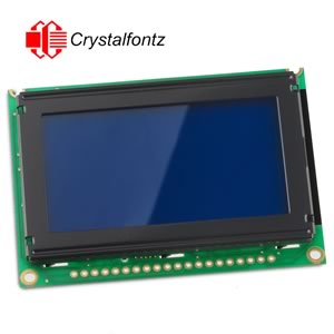 Crystalfontz CFAG12864B-TMI-V 128X64 Parallel Graphic LCD  w/Backlight