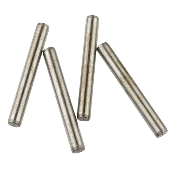 "(Pkg 4) 2.5"" Long 8mm Stainless Steel Axle"