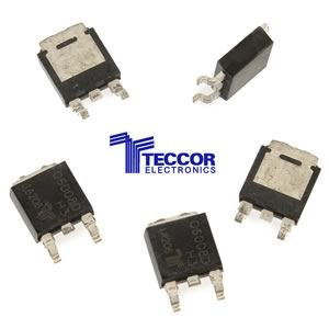 (Pkg 5) Teccor Q6008D 600V 8Amp Triac Alternistor TO-252 D-PAK