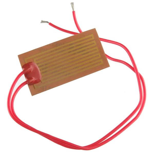 12V 7Watt Press Apply Strip Heater