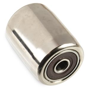 6mm I.D. x 26mm O.D. 34mm long Metal Roller with Ball Bearings