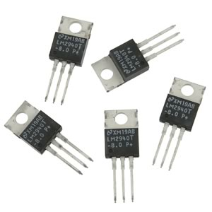 (Pkg 5) LM2940T-8 8V 1Amp IC Regulator