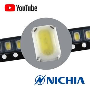 (Pkg 10) Nichia NSSW123BT SMD Powerful  Cool White LED 24 Lumen