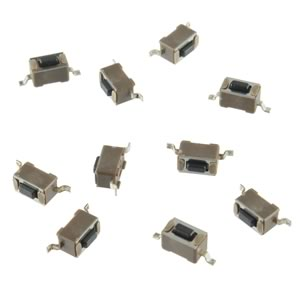 GRAVY DEAL! (Pkg 10) Mini SMD Pushbutton Switch