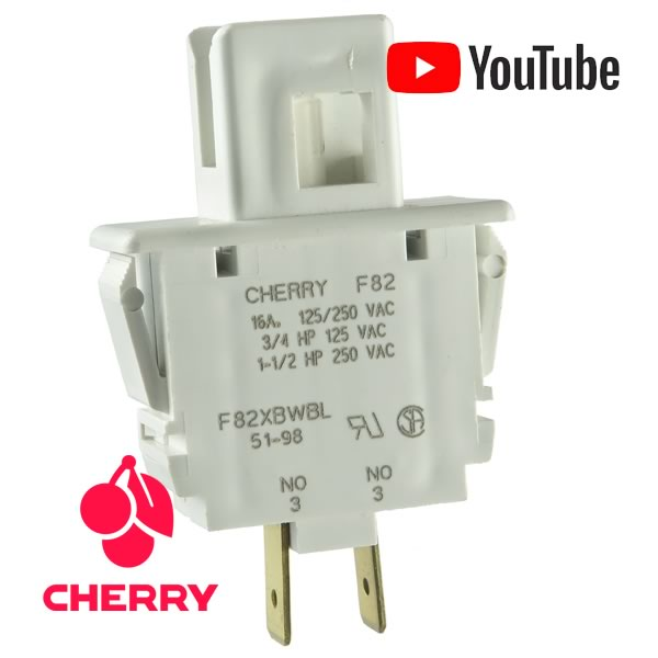 Cherry F80 Series Line Interrupt/Start Momentary Switch