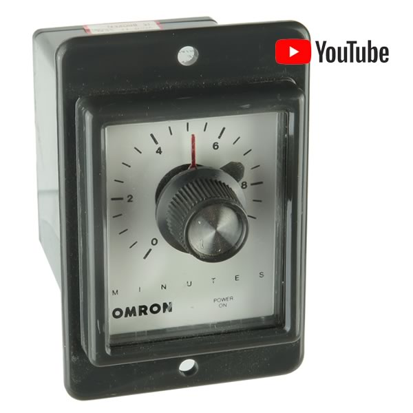 Omron STPMYRAF 0-10 Minutes Adjustable Delay Relay