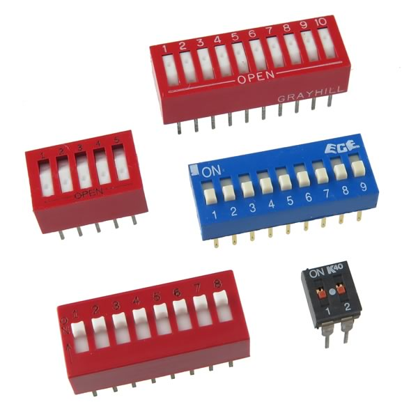 (Pkg 5) Super Dip Switch Assortment