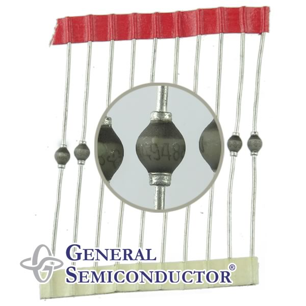 (Pkg 10) General Semiconductor IN4948 1000V 1Amp Fast Switching Rectifier