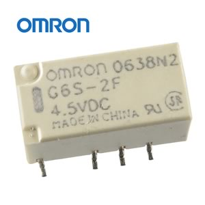 Omron DPDT 4.5VDC SMD Relay G6S-2F