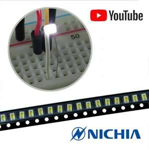 CLEARANCE! (Pkg 20) Nichia 3020 White SMD LED NSSW100BT