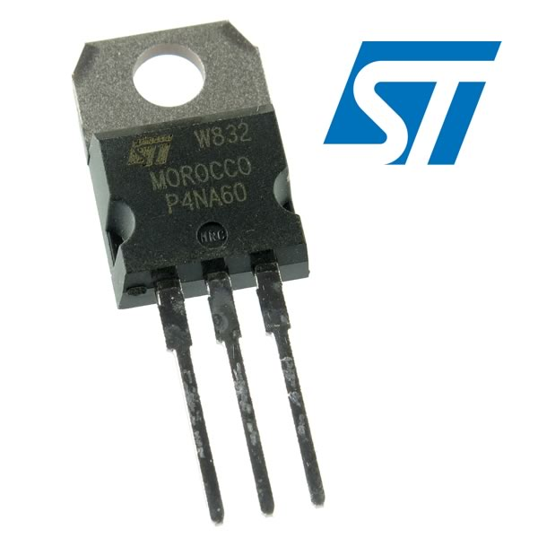 (Pkg 5) P4NA60 N-Channel Enhancement Mode Fast Power Transistor