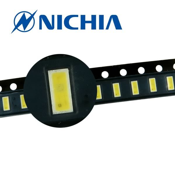 (Pkg 10) Ultra Thin Nichia SMD 27 Lumen White LED NSSW157AT