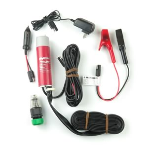 Rule Charge N' Flow Portable Marine Pump Kit with Carrying Case