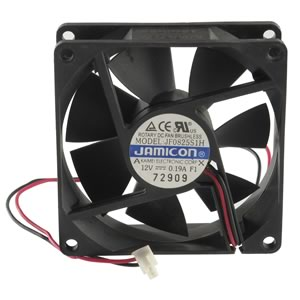 JF0825S1H 12VDC 0.19A 80mm Brushless Cooling Fan