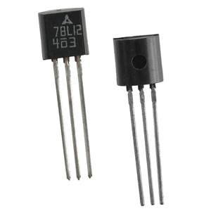 (Pkg 4) 78L12 +12VDC 100mA Voltage Regulator