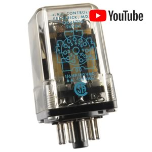 3PDT 24VDC 6A 11-pin Power Relay