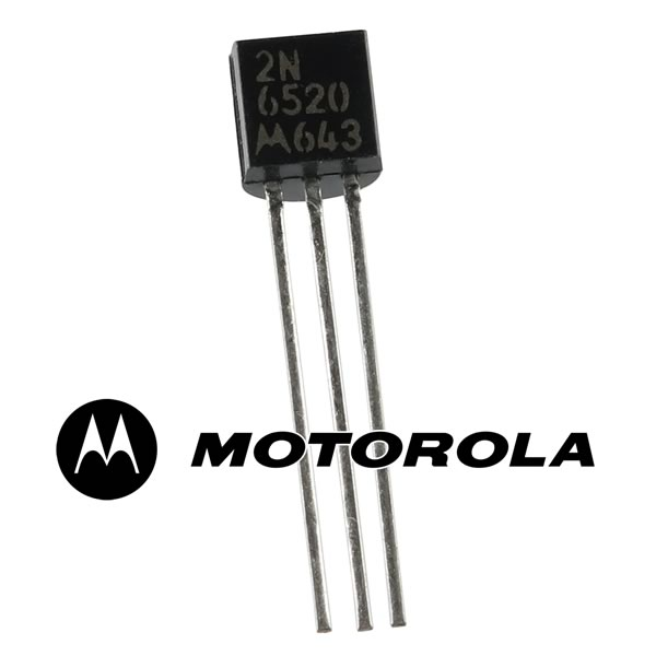 (Pkg 25) Motorla PNP High Voltage 2N6520 Transistor 350V 0.5Amp