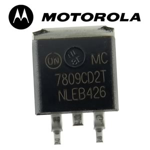 (Pkg 10) Motorola MC7809CD2T 9VDC 1Amp Regulator