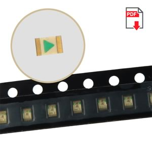 (Pkg 25) Kingbright APT2012SECK Orange 180mcd 610nm SMD LED