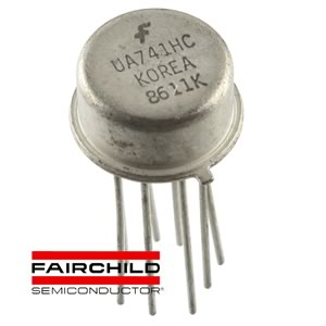 Fairchild UA741HC TO-99 Antique OP-Amp