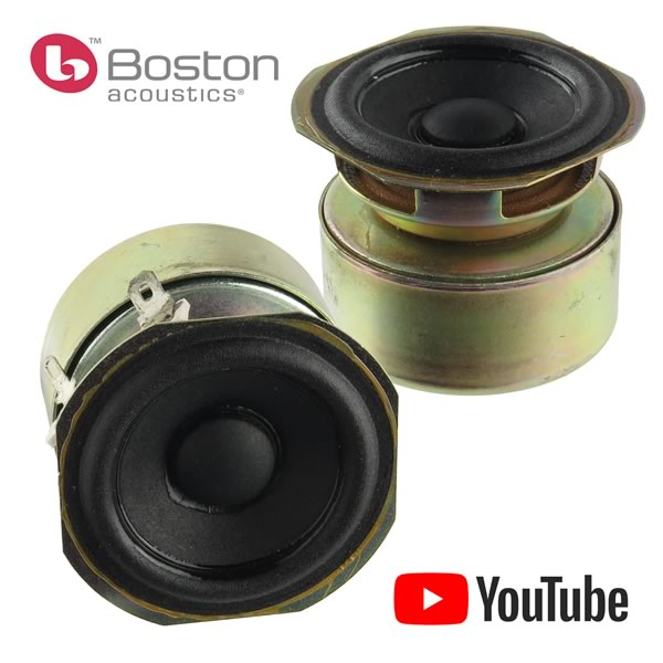 (Pkg 2) Boston Acoustics Nice Sounding 2