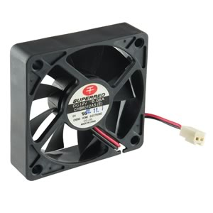 CLEARANCE! Superred Ultra Silent CHB6012AS(E) 12VDC 60mm Fan