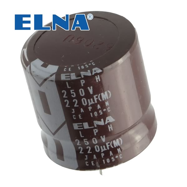 Super Compact 220uF 250V Snap In Capacitor