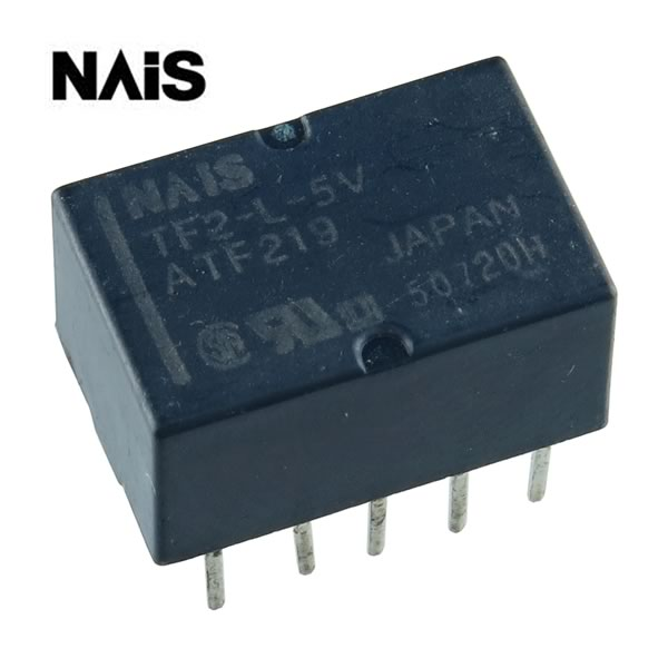 NAIS TF2-L-5V Latching 5VDC DPDT Relay