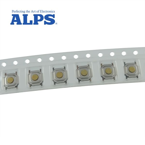 (Pkg 8) ALPS SKQGABE010 Tactile SMD Pushbutton Switch