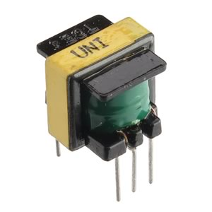 Miniature 5 Lead Ferrite Inverter Transformer