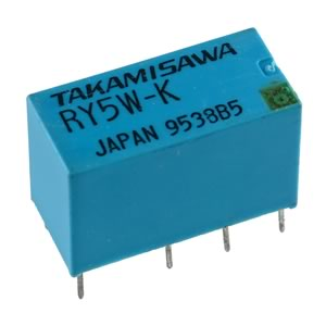 Takamisawa Sensitive 5VDC Miniature DPDT Relay