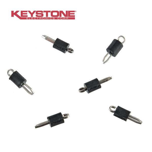 (Pkg 10) Keystone K-5001 PCB Test Point Black